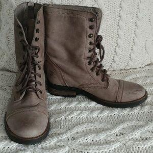 Steve Madden (Military) Boots